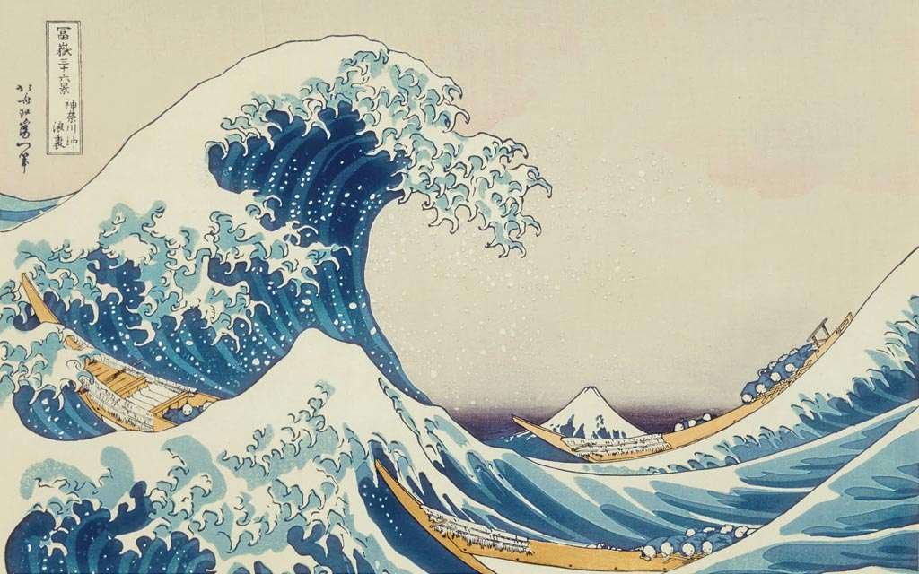 Analysis of The Great Wave off Kanagawa by Hokusai Essay Sample