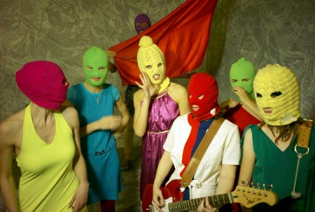 Pussy Riot - collettivo punk rock in Russia