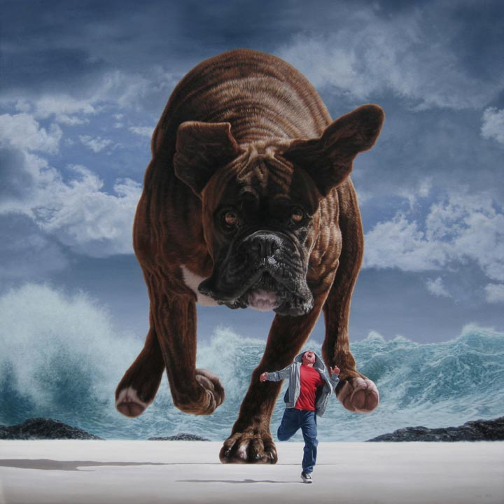 Joel Rea - Pursuit under silver skies