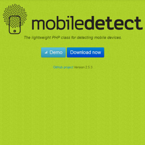 Mobile Detect - screenshot