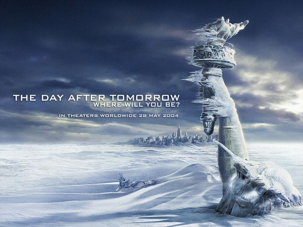 Locandina del film The day after tomorrow