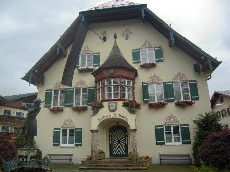 Edificio caratteristico di St. Gilgen