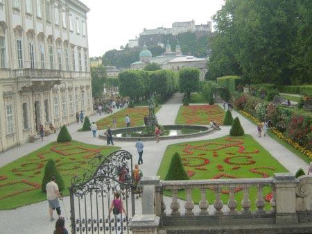 Giardini Mirabell di Salisburgo