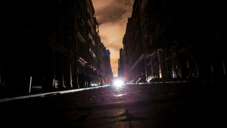 Blackout a Palermo