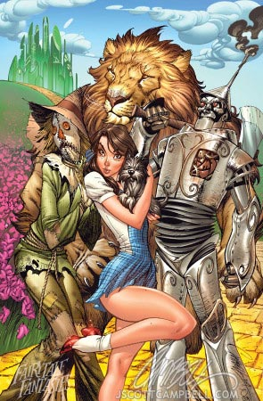 J. Scott Campbell - Il mago di Oz