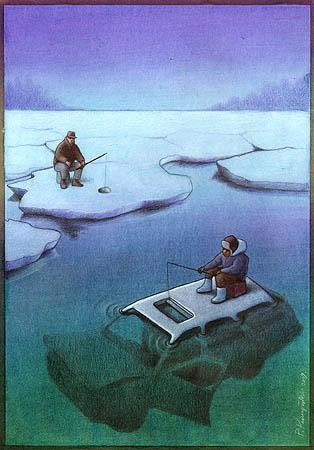 Pawel Kuczynski - Car and ice
