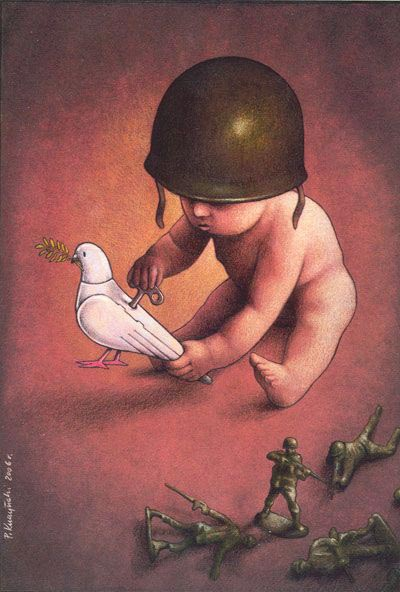 Pawel Kuczynski - Soldiers play to peace