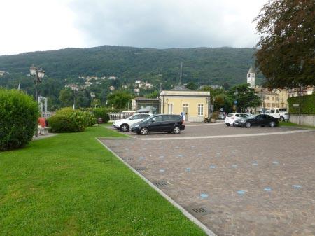 Baveno - piazza del porto