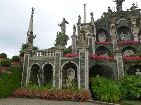 Borromee - Isola Bella - Statue dei giardini