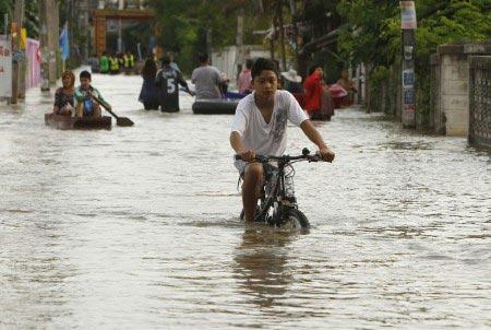 Thailandia - alluvione del 2011