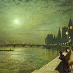 John Atkinson Grimshaw - Reflections on the Thames