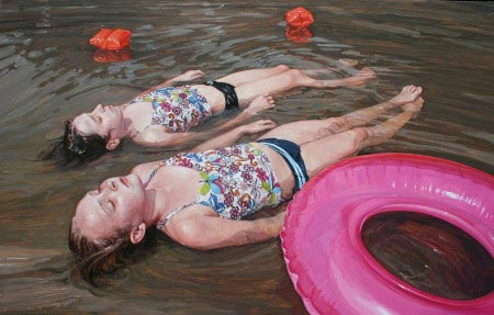 Laura Sanders - Girls and Plastic Floating