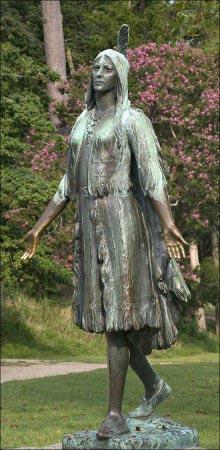 Statua di Pocahontas