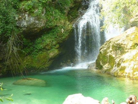 Slovenia - Gola di Vintgar - Cascata