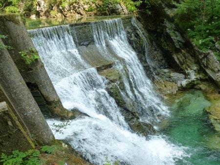 Slovenia - Gola di Vintgar - piccola cascata