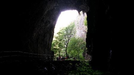 Slovenia - Grotte di San Canziano - uscita