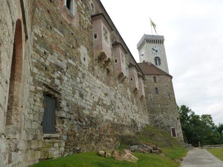 Slovenia - Lubiana - Castello di Lubiana - esterno