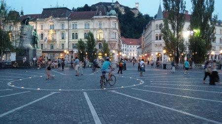 Slovenia - Lubiana - Piazza centrale