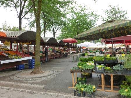 Slovenia - Lubiana - Zona del mercato