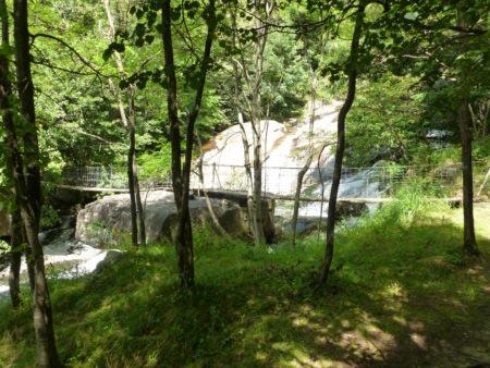 Cascate dell'Acquafraggia - Ponte sulla cima