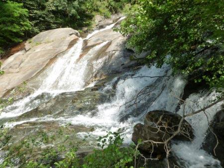 Cascate dell'Acquafraggia - Ultimo tratto
