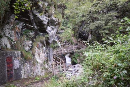 Valle dei Mulini - Ponti di legno