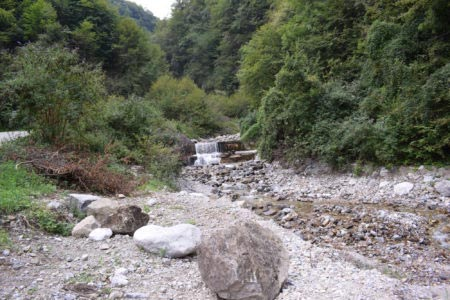 Valle dei Mulini - Torrente in caduta