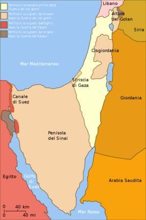 Israele - Guerra dei sei giorni