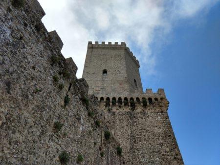 Sicilia occidentale - Erice - Costruzione medievale
