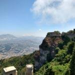 Sicilia occidentale - Erice - Panorama della Sicilia