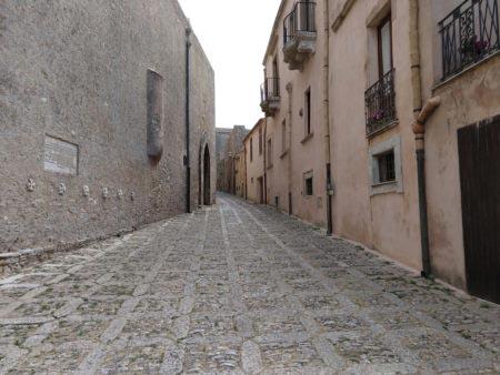 Sicilia occidentale - Erice - Vicolo