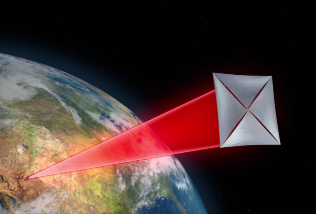 Breakthrough Starshot - Laser contro le vele