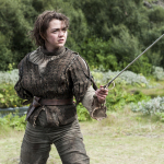 Arya Stark - Throne of sword