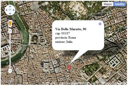 Mappa di esempio di Google Maps