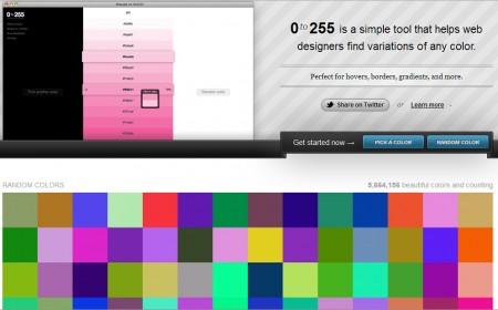 0to255 - screenshot