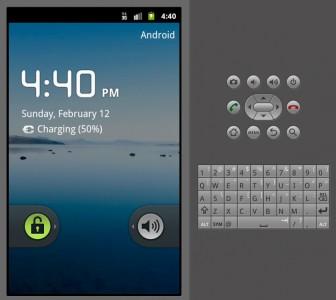 Emulatore Android con tastiera a destra