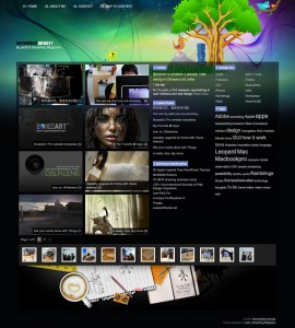 Tema WordPress Infinity