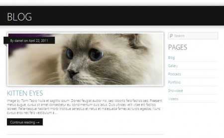 Tema WordPress Minimatica