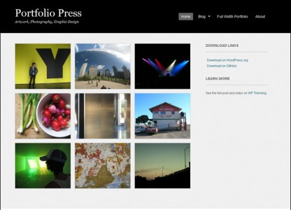 Tema WordPress Portfolio