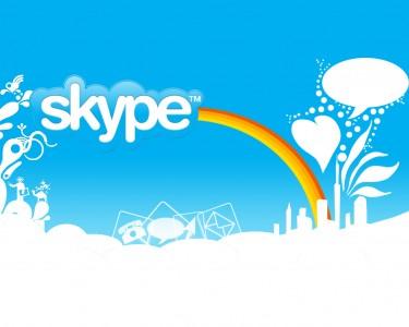 Schermata di Skype