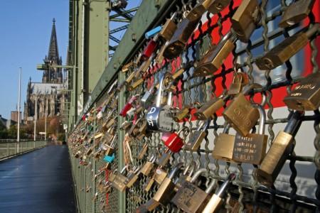 Lucchetti amanti in Germania